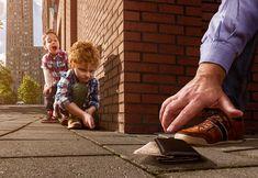Inspirado pelo filho de apenas seis anos, Adrian Sommeling criou uma série de fotografias lúdicas e vem conquistando diversos olhares pelo mundo.