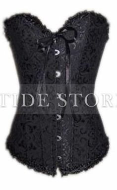 f13afb341 Sexy Classical Printing Corset With G-string YH-AF2109