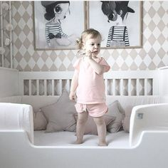 Pretty SELMA shorts set. Ultra soft and in 100% organic cotton
