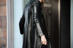 """8ba2e58e0bd BunnyJack on Instagram  """"Who s heading out and has fun plans for the  evening ! Seen here is a  prada Leather Racer Coat! Find it on www.bunnyjack.com  and ..."""