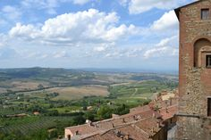 Val D'Orcia from Montepulciano