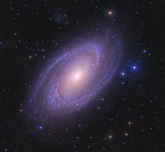 La brillante galaxia espiral M81