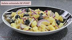 Salata orientala DE POST - Cea mai simpla si mai rapida reteta - 🥣 Lectu... Mai, Fruit Salad, Oatmeal, The Creator, Breakfast, Recipes, Food, The Oatmeal, Morning Coffee