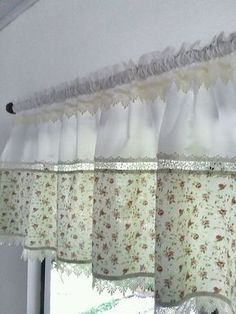 Cute Curtains, Hanging Curtains, Drapes Curtains, Valances, Farmhouse Curtains, Country Curtains, Kitchen Curtains, Cortinas Country, Interior Design Living Room
