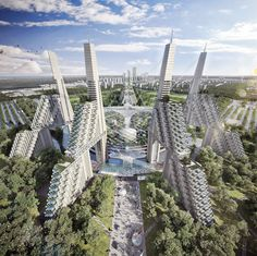 Astana p[roject in Kazakstan designed by Moshe Safdie