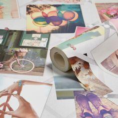 Kids Colours Pinboard Wallpaper | Departments | DIY at B&Q
