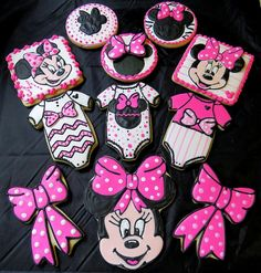 #Disney, Minnie Mouse Baby #cookies