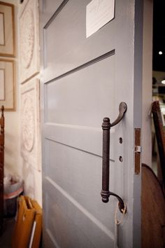 Sliding Barn Door Handle | Parish | Montgomery Alabama  Perfect for our sliding pantry door