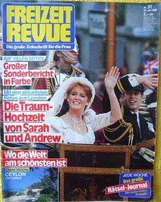 FREIZEIT REVUE n. 31 - 24.06.1986 FERGIE & ANDREW