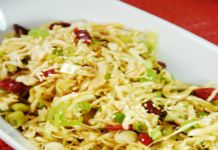 Oriental Cabbage and Cranberry Salad Recipe 2 Smartpoints