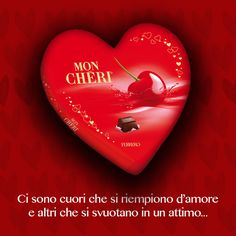 #Chocolate #ValentinesDay #MonCheri #Ferrero #Heart #IdeeRegalo per la #FestadegliInnamorati From Glob-Arts