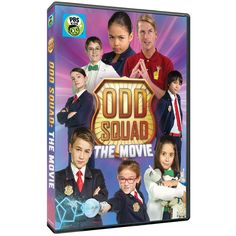 ODD-mazing news: ODD SQUAD: The Movie is now available on DVD! In this action-packed film, it's up to Odd Squad agents new and old to come together and use math and teamwork to save the day! http://amzn.to/2jE2mWK