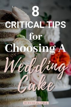 Check out these 8 critical tips for choosing a wedding cake. From decorations, budget, shape, and style, and flavors & design. Find wedding cake ideas and inspirations for your big day theme and colors. Country Wedding Cakes, Floral Wedding Cakes, Wedding Cake Rustic, White Wedding Cakes, Wedding Napkins, Wedding Mandap, Wedding Reception Centerpieces, Wedding Decorations, Wedding Cookies