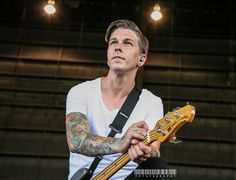 Justin Hills of Sleeping With Sirens
