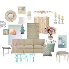 Simple Shabby Chic, created by curiusvudu102.polyvore.com