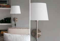 IKEA RODD wall sconce with the small JARA shade... didn't know they had these!