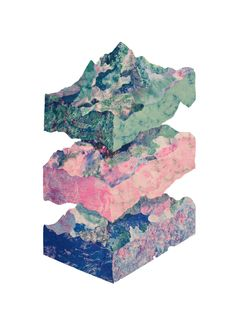 Geography Lessons Risograph
