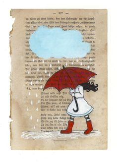 My red umbrella -