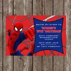 Free Printable Spiderman Birthday Invitation Templates Nicos - Spiderman birthday invitation maker free