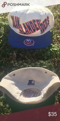 Vintage Starter NY Islanders Snapback Hat RARE Very rare Vintage Starter Hat!  Hat is in like new condition with no flaws! 57d80e0cb8a0