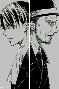 Levi vs Kenny