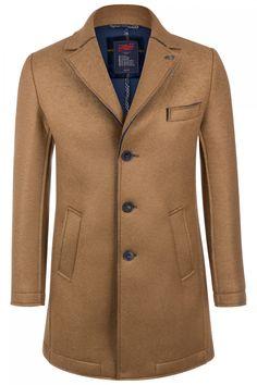 BOB Herren Wollmantel Andy Beige | SAILERstyle Elegant, Suit Jacket, Bob, Breast, Shirts, Blazer, Fashion, Jackets, Classy