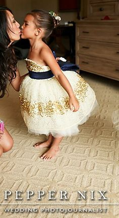 I want one.  The dress for my flower girl and a baby girl for myself.