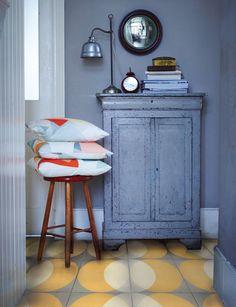 OL Zeinah Colourful Louane Arabesque Porcelain Floor Tile 600x600x10.5 5-20 Sqm