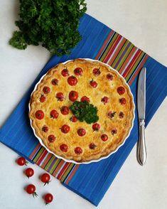Pınar's Desserts: Pırasalı ve Mantarlı Kiş
