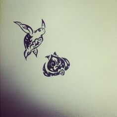 turtle tattoo | Tumblr- the one of the left is adorable