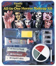 7 Color Professional Makeup Kit Reel F/X Halloween Costume Makeup ...