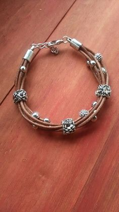 You may already have a tool box for your fashion jewelry making tools. But you'll require a bigger one once you buy the additional tools you'll require for metalsmithing. Leather Cord Bracelets, Leather Jewelry, Wire Jewelry, Boho Jewelry, Beaded Jewelry, Jewelery, Jewelry Bracelets, Rustic Jewelry, Fashion Jewelry