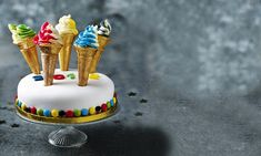 Champion! Treat yourself to a slice of this fabulous Olympic Torch cake – specially created by Fiona Cairns – as you take in a piece of the action