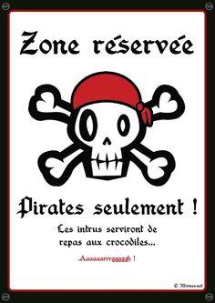 Activités et jeux pour une fête pirate (1ère partie)