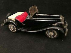 1950 MG Midget Tin Litho Friction Toy Car Bandai Japan  $175.00Approx NOK1,457.97