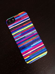 "iPhone 5 Case - ""Broken Stripes"" Graph Drawing - unique iPhone case, art iPhone case, hipster iphone case, iphone 5 case. $38.00, via Etsy."