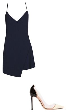 """Untitled #94"" by cassidyb16 ❤ liked on Polyvore featuring Boohoo and Gianvito Rossi"