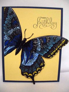 Birthday card created by ZenasMom using Stampin' Up products and posted on Splitcoast Stampers.com