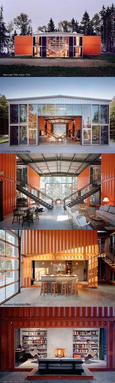 Container House - Container House - container house by adam kalkin - Who Else Wants Simple Step-By-Step Plans To Design And Build A Container Home From Scratch? Who Else Wants Simple Step-By-Step Plans To Design And Build A Container Home From Scratch? Building A Container Home, Container Buildings, Container Architecture, Architecture Design, Architecture Names, Greece Architecture, Cargo Container, Container House Design, Building A Shed
