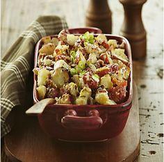 Main dish #salad --> Roasted New Potato & Bacon Salad by @mytexaslife
