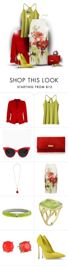 """""""Poppin' Fresh Poppies"""" by rockreborn ❤ liked on Polyvore featuring Boohoo, Patagonia, Dorothy Perkins, Viyella, Alexis Bittar, Elizabeth Showers, Jessica Simpson and Casadei"""