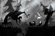 There should be a Gravity Falls x Limbo game