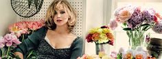 Jennifer Lawrence, funny, gorgeous, and a great actress!
