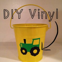 Set of 12 John Deere tractor DIY vinyl stickers party favors western farm party  on Etsy, $12.00