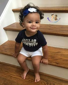 Kinsley - 15 Months • African American & Caucasian ❤️