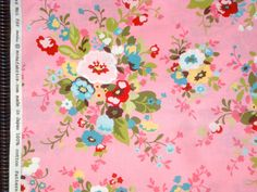 Sophie Chez Moi Nosegay pink moda fabric FQ or more by claydeal