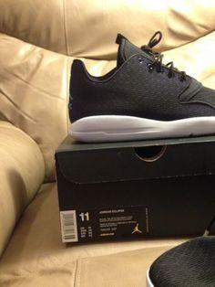 07ea38fc89310f  Men  Shoes Nike Air Jordan Eclipse Men s Shoe Size 11 Black Platinum  Purple Awesome!  Men  Shoes