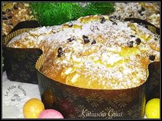 Happy Easter, Great Recipes, Biscuits, Food And Drink, Cooking Recipes, Pudding, Desserts, Italian Recipes, Fantasy