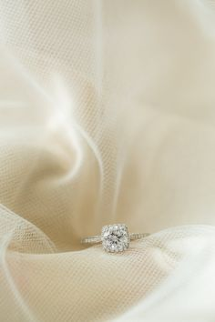 Gorgeous ring!!  View the full wedding here: http://thedailywedding.com/2015/11/24/classic-new-england-nautical-wedding-heather-matt/