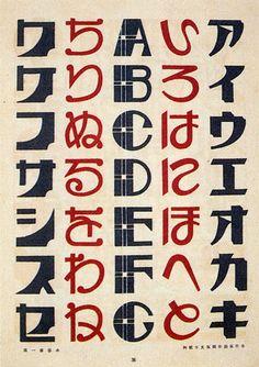 gilliflower: koyama keiichi, examples of advertising lettering,...